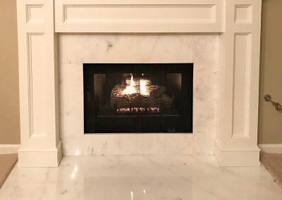 DLT Refinish Fireplace